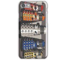 5 Shades of Dalek iPhone Case/Skin