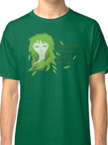 Mother Earth (Eyes Closed) Classic T-Shirt