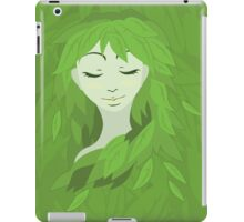 Mother Earth (Eyes Closed) iPad Case/Skin