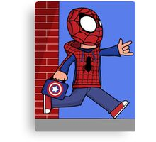 The Spectacular Spider-Kid Canvas Print
