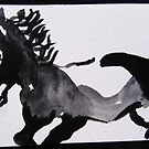 Galloping by ANNETTE HAGGER