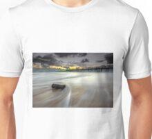 The Log & the Sweeping Wave - Gold Coast Qld Australia Unisex T-Shirt