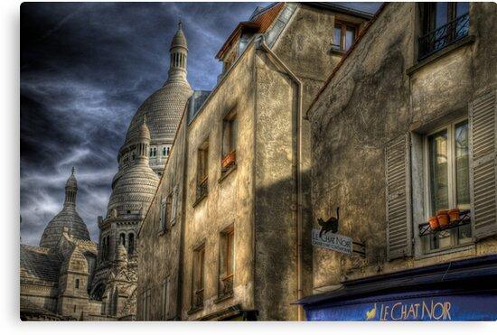 Montmartre, Paris by Laurent Hunziker