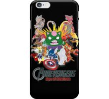Pokevengers: Age of Mewtron iPhone Case/Skin