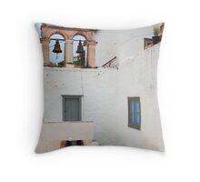 Hydra church Throw Pillow