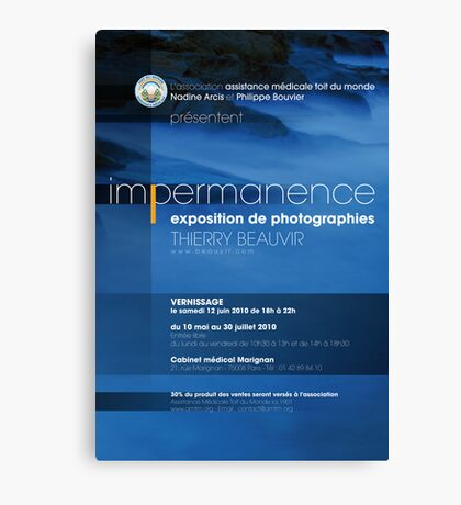 Expo / Impermanence Canvas Print