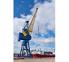 Harbour Crane Photographic Print