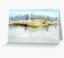 Quarry Reflections Greeting Card