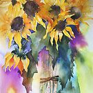 Sunflowers by artbyrachel