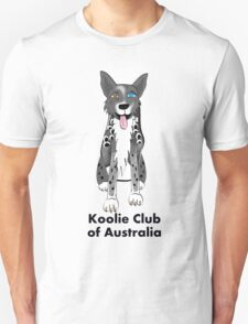 Koolie sit - Koolie Club of Australia T-Shirt