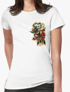 Barber 30 Womens Fitted T-Shirt