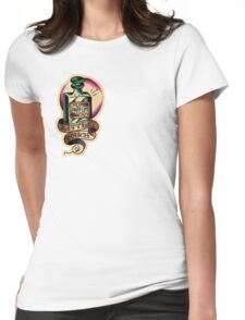 Barber 28 Womens Fitted T-Shirt