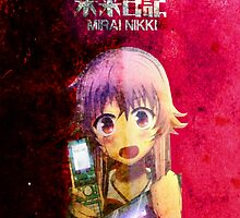 Mirai Nikki (The Future Diary) by xbritt1001x