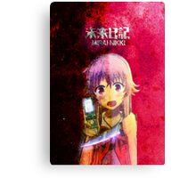 Mirai Nikki (The Future Diary) Canvas Print