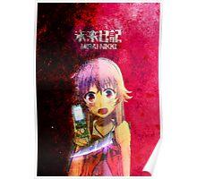 Mirai Nikki (The Future Diary) Poster