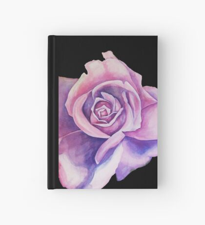Blue Moon Rose Hardcover Journal
