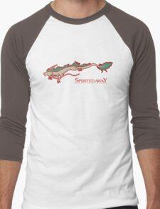 Spirited Away - Haku Dragon Men's Baseball ¾ T-Shirt