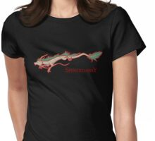 Spirited Away - Haku Dragon Womens Fitted T-Shirt