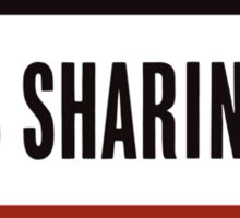 Rationing Is Sharing -- WWII  Sticker