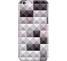 Davy Gray Abstract Low Polygon Background iPhone Case/Skin