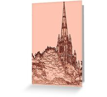 St Mary Redcliffe, Bristol, U/K Greeting Card