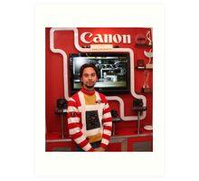 Canon showroom Art Print