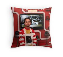 Canon showroom Throw Pillow