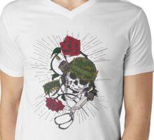 War Mens V-Neck T-Shirt