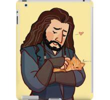 Thorin and Kitten iPad Case/Skin