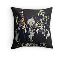 D. Gray Man - Group Throw Pillow