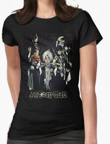 D. Gray Man - Group Womens Fitted T-Shirt