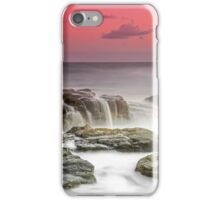 Oceanic Waterfall - Sunshine Coast Australia iPhone Case/Skin