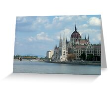 Hungarian Parliament, Budapest Greeting Card
