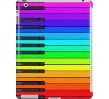 Rainbow Piano Keyboard  iPad Case/Skin