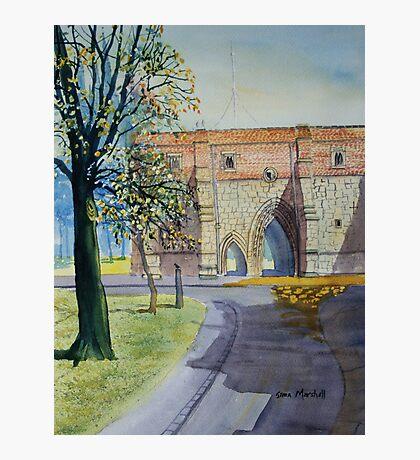 Bayle Gate, Bridlington Photographic Print