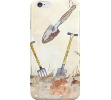 My Favourites (garden tools) iPhone Case/Skin