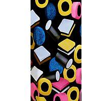 。◕‿◕。 ☀ ツ Mini Licorice Allsorts (Old Fashioned Candy) iPhone Case,Pillows,tote bag, books ect 。◕‿◕。 ☀ ツ Photographic Print