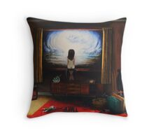 'A slither of hope' Throw Pillow