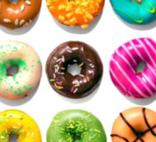 Beauty of Donuts Sticker