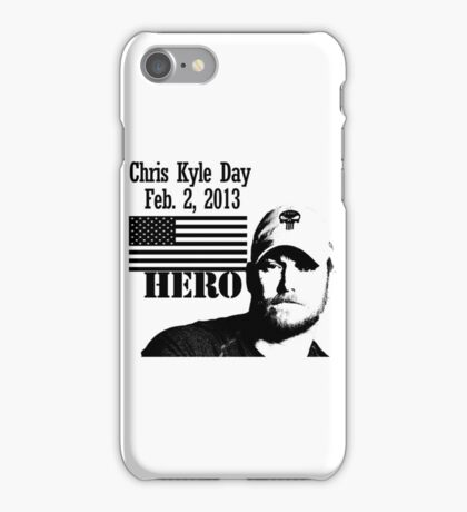 Chris Kyle RIP v2 iPhone Case/Skin