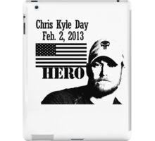 Chris Kyle RIP v2 iPad Case/Skin