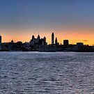 Philly Sunset by StudioEleven