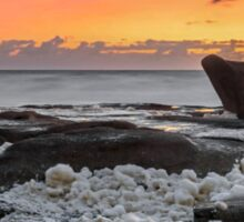 Dolphin on the Rocks - Sunshine Coast Qld Australia Sticker