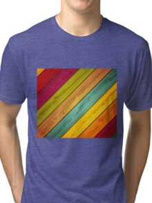 Color Stain Tri-blend T-Shirt