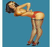 Pin Up Debbie Photographic Print