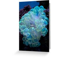 Bubble coral Greeting Card