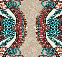 Curled Fringe by Sol Noir Studios
