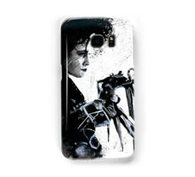 Scissorhands Splatter Samsung Galaxy Case/Skin