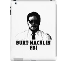Burt Macklin FBI iPad Case/Skin