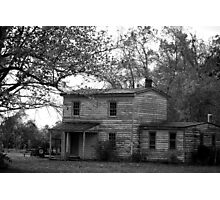 Haunted Groundkeepers Home Photographic Print